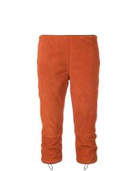 orange Caprihose von Prada Vintage