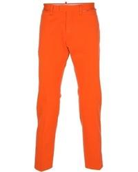 orange Chinohose von DSquared