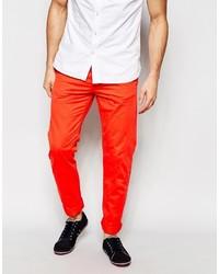 orange Chinohose von Esprit