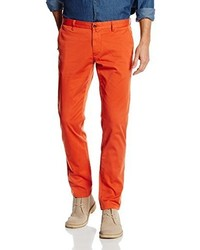 orange Chinohose von Gant