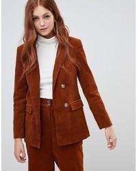 orange Cordsakko von New Look