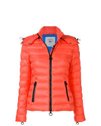 orange Daunenjacke