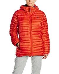 orange Daunenjacke von adidas
