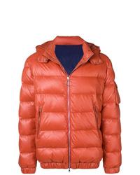 orange Daunenjacke von Eleventy