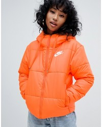 orange Daunenjacke von Nike