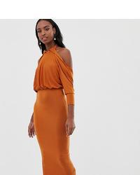 orange Etuikleid von Asos Tall