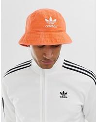 orange Fischerhut von adidas Originals