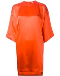 orange gerade geschnittenes Kleid von Givenchy