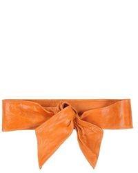 orange Gürtel