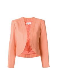 orange Jacke mit einer offenen Front von Yves Saint Laurent Vintage