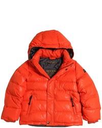 orange Jacke