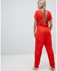 orange Jumpsuit von Vila