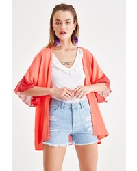 orange Kimono von OXXO