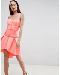 orange Kleid von Asos