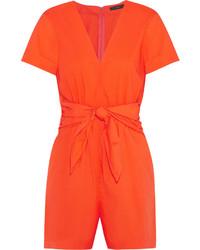 orange kurzer Jumpsuit von J.Crew