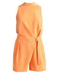 orange kurzer Jumpsuit von Morgan