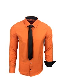 orange Langarmhemd von RUSTY NEAL