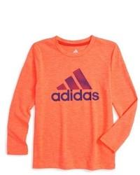 orange Langarmshirt