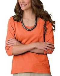 Orange langarmshirt original 1286151