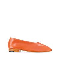 best website 50d51 7033c Modische orange Leder Ballerinas für Winter 2019 kaufen ...