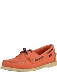 orange Leder Bootsschuhe von Sebago