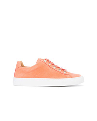orange Leder niedrige Sneakers von Koio