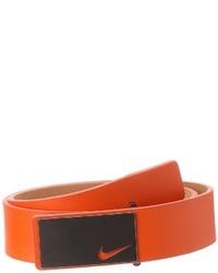 orange Ledergürtel