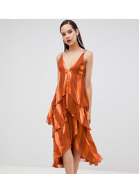 orange Midikleid von Asos Tall