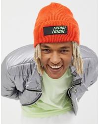 orange Mütze von ASOS DESIGN