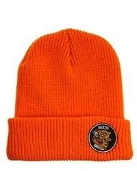 orange Mütze von Brixton