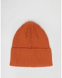 orange Mütze von Wesc