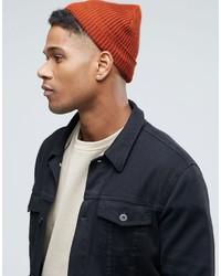 orange Mütze von Asos