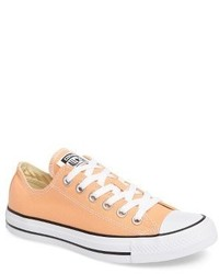 orange niedrige Sneakers