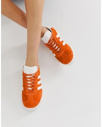 orange niedrige Sneakers von adidas Originals