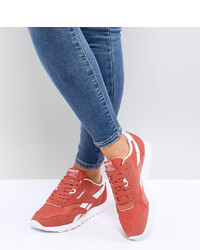 orange niedrige Sneakers von Reebok