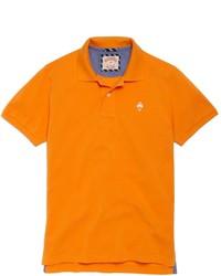 orange Polohemd