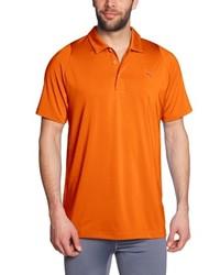 orange Polohemd von Puma