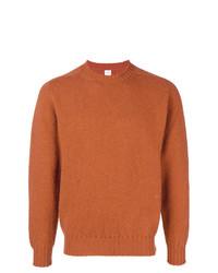 orange Pullover mit einem Rundhalsausschnitt von E. Tautz