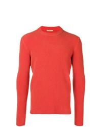 orange Pullover mit einem Rundhalsausschnitt von Nuur