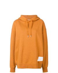 orange Pullover mit einer Kapuze von Acne Studios