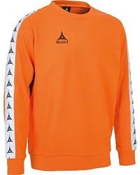 orange Pullover von Select