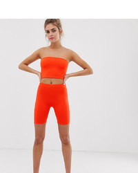 orange Radlerhose