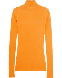 orange Rollkragenpullover von Victoria Beckham