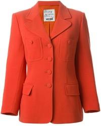 orange Sakko von Moschino