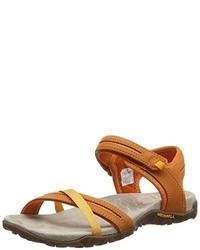 orange Sandalen von Merrell