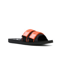 orange Sandalen von Off-White