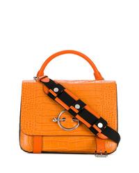 orange Satchel-Tasche aus Leder von JW Anderson