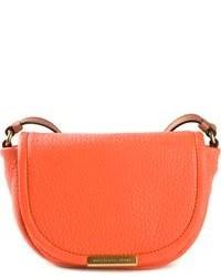 orange Satchel-Tasche aus Leder von Marc by Marc Jacobs