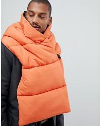 orange Schal von ASOS DESIGN