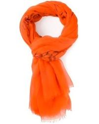 orange Schal von Kostas Murkudis